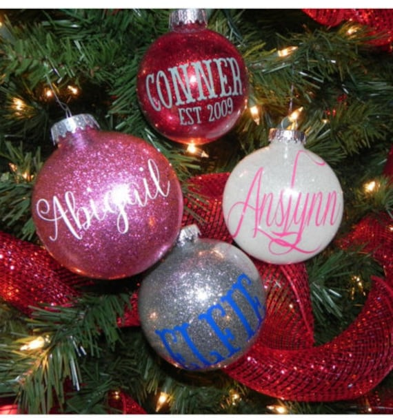 Personalized Christmas Ornaments For Kids and Families ...
