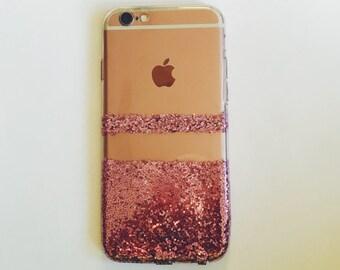 Pink Glitter iPhone 6s case