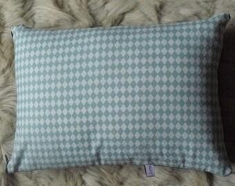 Cushion cover 30 x 40 cm velvet and cotton
