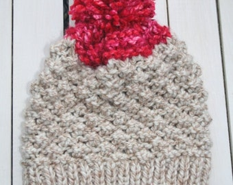 BOOB Knit Hat for Breast Cancer