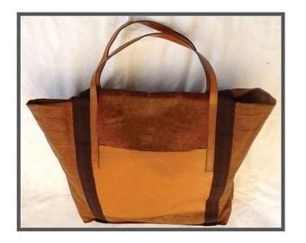 VINTAGE bag / Tote Bag / large bag weekend.