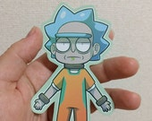 SPECIAL EDITION Free Rick Sticker