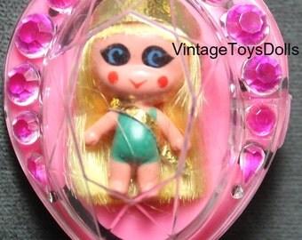 Original Vintage Liddle Kiddles Jewelry Kiddle Heart Pin