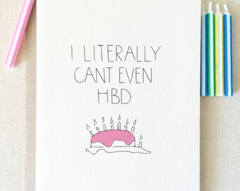 sassy birthday cards  etsy, Birthday card