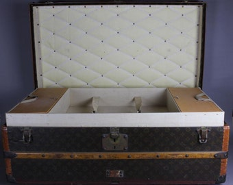 Early 20th Century Louis Vuitton Trunk Chest.