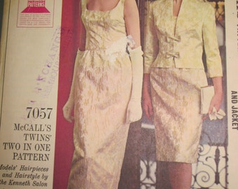 PATTERN MC CALLS 7057 all evening for women size 14 Vintage