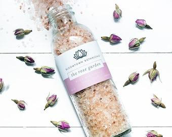 badesalz lavendel rose geranie salz einweichen bad. Black Bedroom Furniture Sets. Home Design Ideas