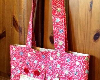 Handmade Quilted Shoulder Bag