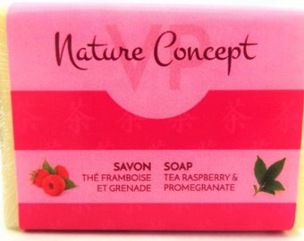 Raspberries and pomegranates soap