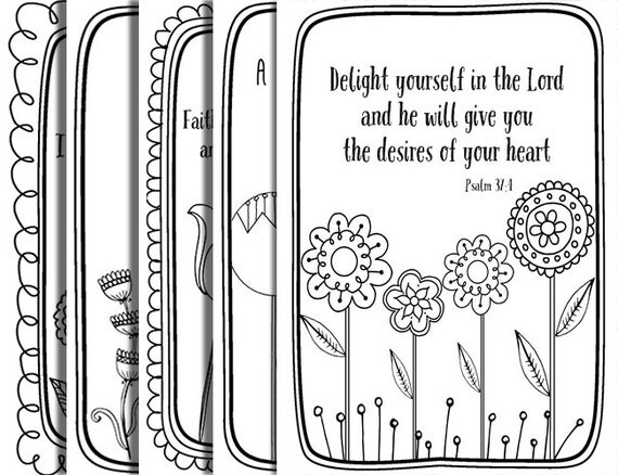 5 bible verse coloring pages inspiration quotes diy proverbs