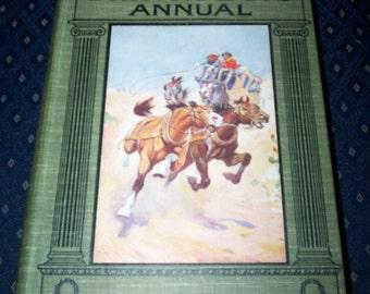 Vintage 'British Boy's annual' 1925