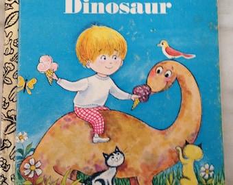 vintage Little Golden Book My Little Dinosaur LGB hardback sixth printing 1979
