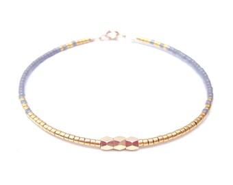 bracelet femme bracelet perles tour poignet bracele argent et. Black Bedroom Furniture Sets. Home Design Ideas