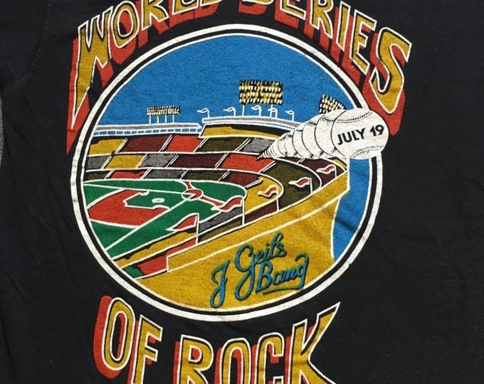 1980 World Series of Rock - J. Geils Band T-shirt