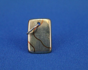 Copper Inlay Pendent