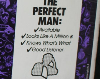 Mr Right - The Perfect Man - Cardboard Cutout with Easel by Blue Q 1989