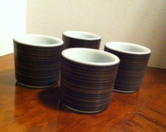 Pyrex Terra pattern mugs Set of 4