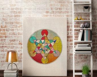 Sacred Geometry Print Sacred Geometry Art Sacred Geometry Posters