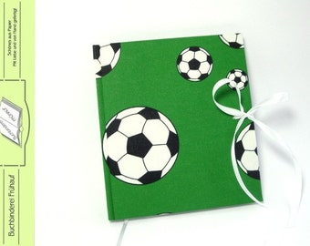 Diary note book football