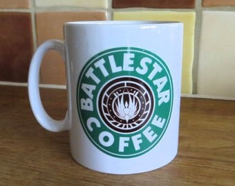 Battlestar Galactica Starbucks Inspired Coffee Mug 10oz