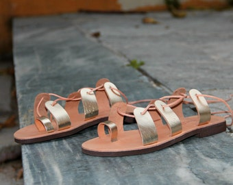 Gladiator Sandals, womens leather sandals, handmade genuine leather