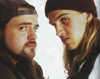 Jay and Silent Bob 11 x 14 Kevin Smith and Jason Mewes Poster