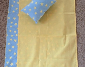 Yellow Stars Bedding Set