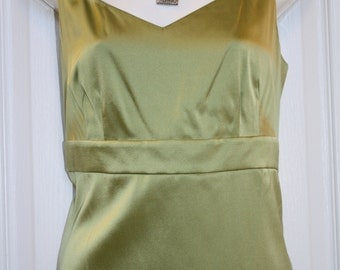 100% Silk Top, by Talbots, Size 10