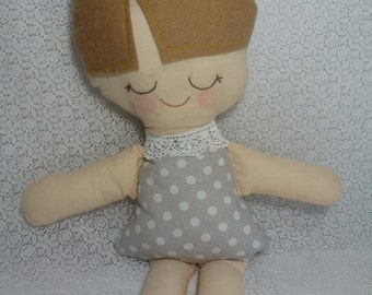 Handmade Cloth Doll, Rag Doll