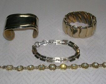 Four Vintage Bracelets
