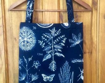 Nature Print Tote Bag