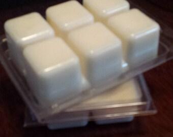 Homemade soy wax tart melts