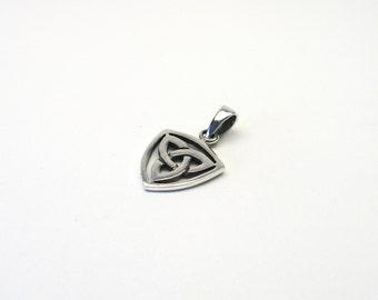 Silver 925 Celtic knot Celtic Trinity