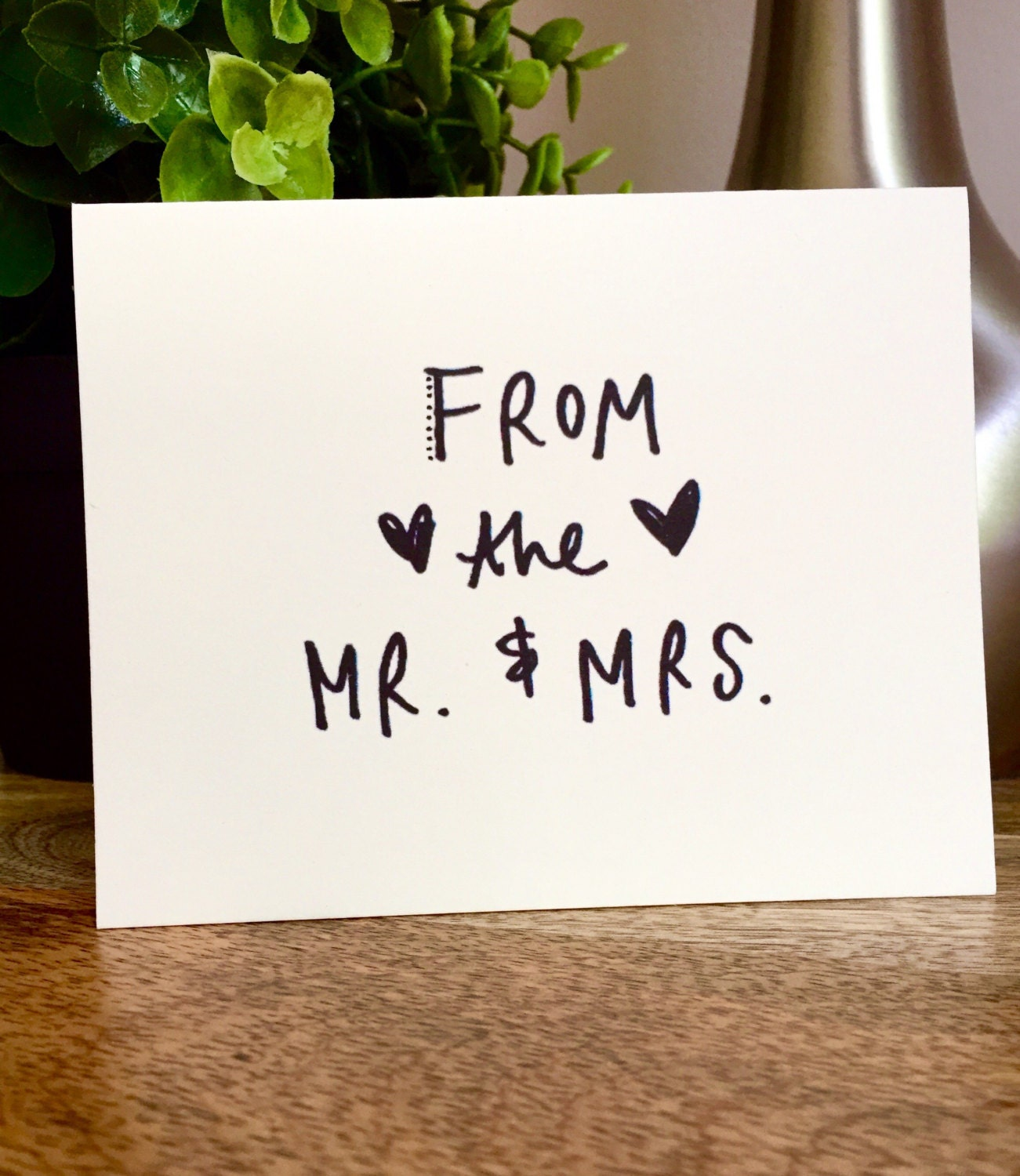 Wedding Greeting card bulk mr and mrsThank You Cards 10 Rustic – Bulk Wedding Thank You Cards