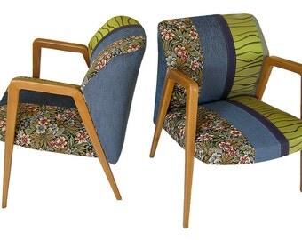 """Pair of armchairs vintage """"Jan & Dean"""""""