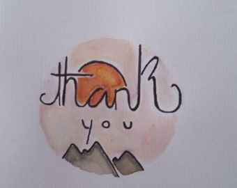 Thank You Card