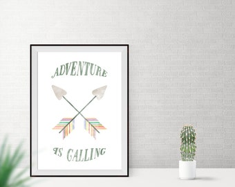 Art print / / adventure