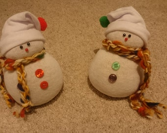 Snowman decoration Christmas decoration Winter decoration