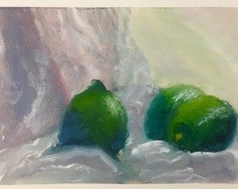Limes in Drapery