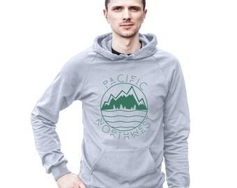 Pacific Northwest West Coast Men's Hoodie Sweatshirt