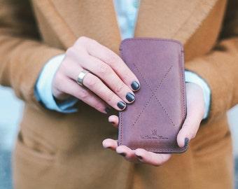 Classic Google Nexus 6P Case In Brown Color. Google Nexus 6P Case. Google Nexus 6P Leather Sleeve With Secret Pocket.
