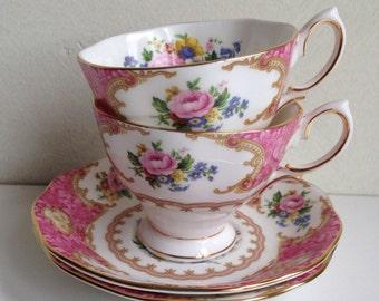 Royal Albert Lady Carlyle 1944 Vintage Cup amd Saucer, Gentleman