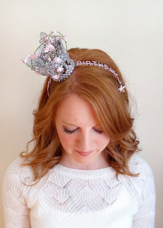 Glam birthday headband