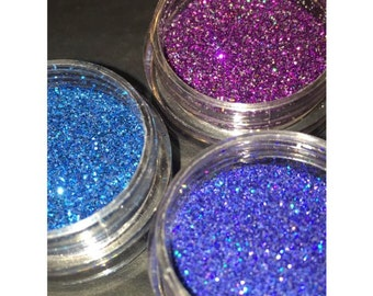 Cosmetic glitter jar - glam collection