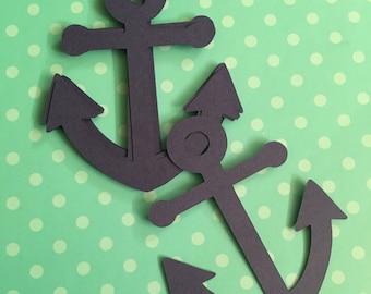 Nautical Anchor Die Cut