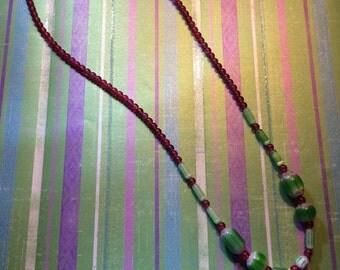 Watermelon Picnic necklace