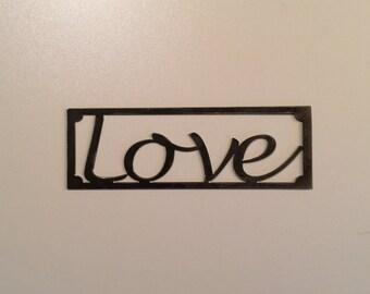 Love (19x7 inches)