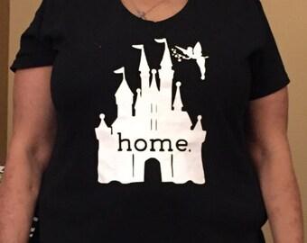 Disney Home V-Neck or Round Neck (Ladies)