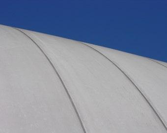 Tennis Bubble Against A Deep Blue Sky #166