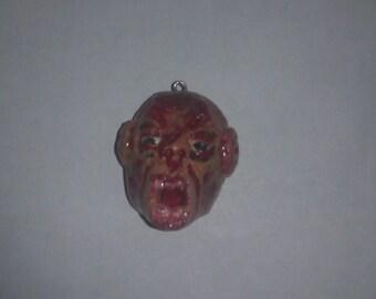 Zombie Head Pendant